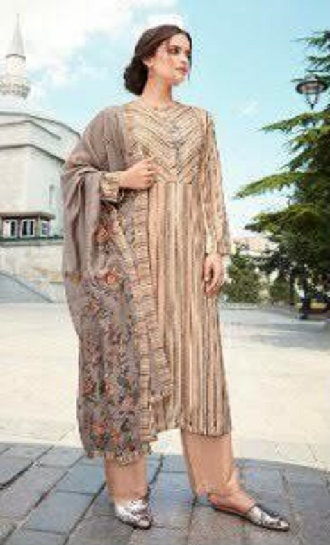 Sahiba Presents Fiona Pure Pashmina Digital Printed Unstitched Casual Salwar Suit 630