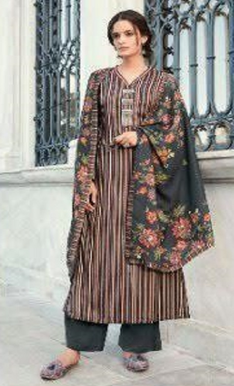 Sahiba Presents Fiona Pure Pashmina Digital Printed Unstitched Casual Salwar Suit 680