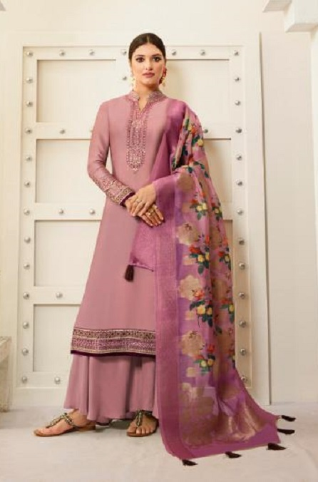 Amirah Presents Vol 30 Satin Georgette With Embroidery Work and Hand work Designer Salwar Suits 12033