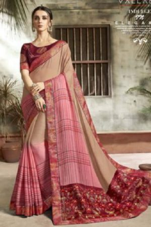 Buy Vallabhi Presents Ishabella Chiffon Designer Saree 25023