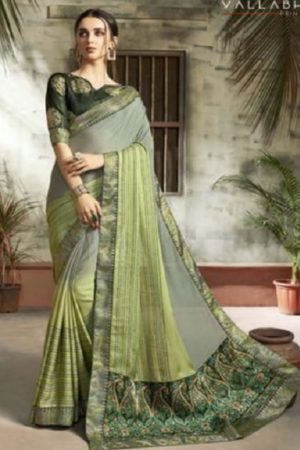 Buy Vallabhi Presents Ishabella Chiffon Designer Saree 25025