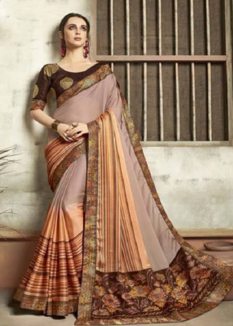Buy Vallabhi Presents Ishabella Chiffon Designer Saree 25026