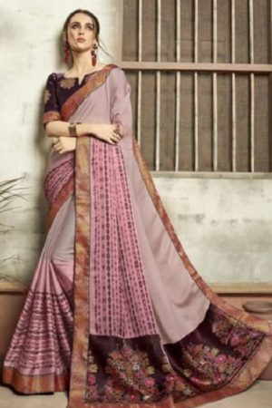 Buy Vallabhi Presents Ishabella Chiffon Designer Saree 25027