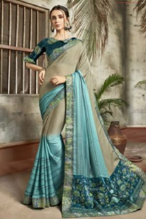 Buy Vallabhi Presents Ishabella Chiffon Designer Saree 25028