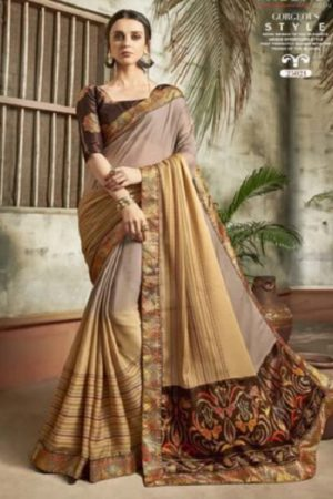 Buy Vallabhi Presents Ishabella Chiffon Designer Sarees 25021