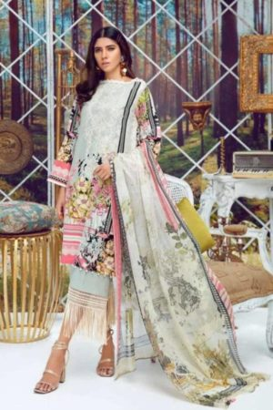 Deepsy Suits Present Firdous 4 Pure Cotton Print With Heavy Self Embroidery Salwar Suit 331