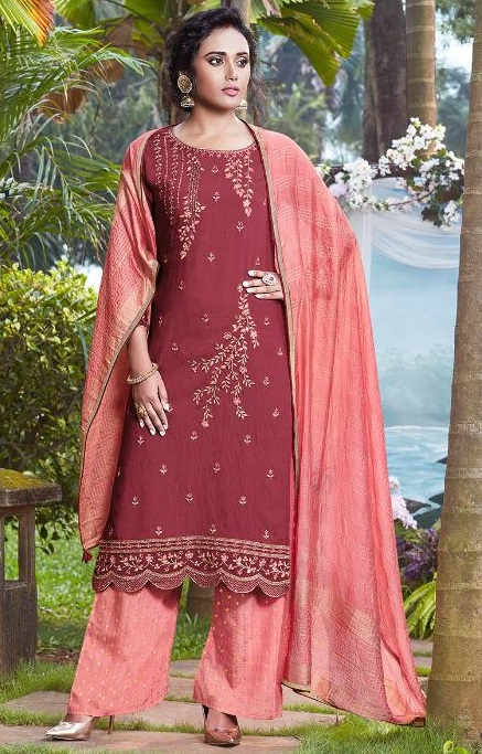 Fiona Presents Nazia Viscose Modal With Work Designer Partywear Suit 22681