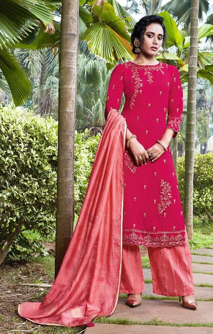 Fiona Presents Nazia Viscose Modal With Work Designer Partywear Suit 22683
