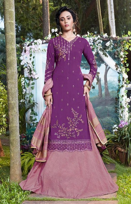 Fiona Presents Nazia Viscose Modal With Work Designer Partywear Suit 22684