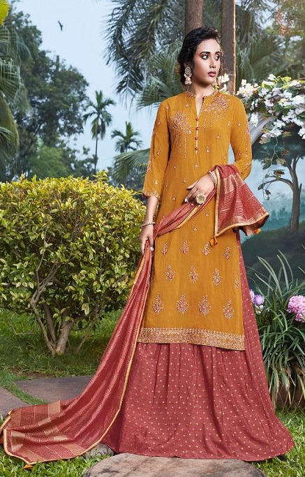 Fiona Presents Nazia Viscose Modal With Work Designer Partywear Suit 22685