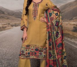 Rivaa Presents Noorie 4 Pashmina With Fancy Embroidery Salwar Suit 2521A