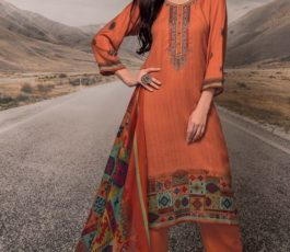 Rivaa Presents Noorie 4 Pashmina With Fancy Embroidery Salwar Suit 2521B