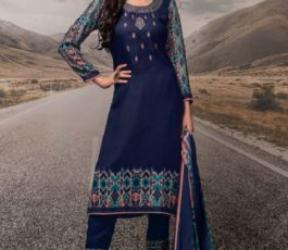 Rivaa Presents Noorie 4 Pashmina With Fancy Embroidery Salwar Suit 2523A
