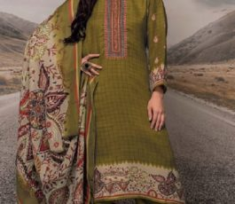 Rivaa Presents Noorie 4 Pashmina With Fancy Embroidery Salwar Suit 2524B