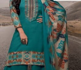 Rivaa Presents Noorie 4 Pashmina With Fancy Embroidery Salwar Suit 2525A