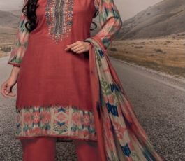 Rivaa Presents Noorie 4 Pashmina With Fancy Embroidery Salwar Suit 2525B