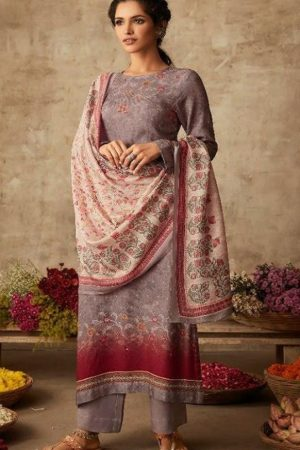 Sahiba Itrana Presents Art Of Weave Cotton Satin Dobby Digital Print with Handwork Salwar Suit 328