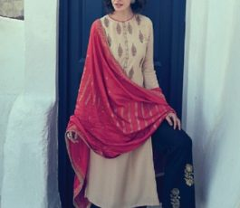 Varsha Fashions Presents Istella Fancy Fabric With Embroidery Salwar Suit IL-38