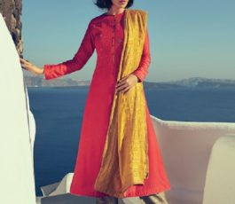 Varsha Fashions Presents Istella Fancy Fabric With Embroidery Salwar Suit IL-35