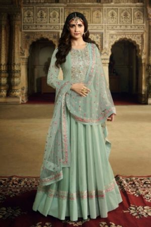 Vinay Fashion Presents Kaseesh Rangmahal Dola Silk With Heavy work Designer Partywear Suit 11765