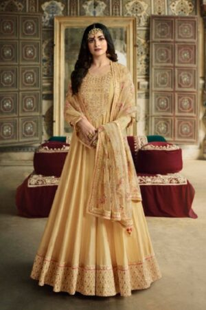 Vinay Fashion Presents Kaseesh Rangmahal Dola Silk With Heavy work Designer Partywear Suit 11766