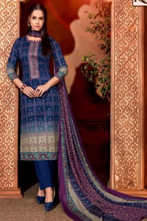 Alok Bandhej 2 Pure Jam Cotton Digital Style Bandhni Print With Elegant Thread Embroidery Salwar Suit 377-005