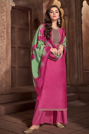 Buy Ibiza Urjita Pure Muslin With Fancy Embrodery And Handwork Salwar Suit 467