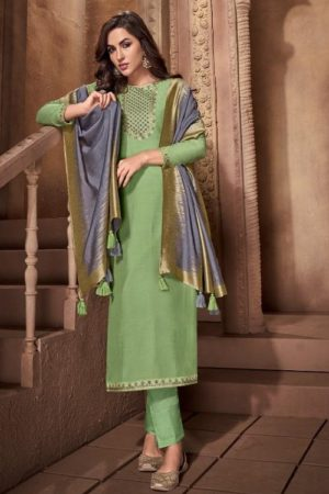 Buy Ibiza Urjita Pure Muslin With Fancy Embrodery And Handwork Salwar Suit 468