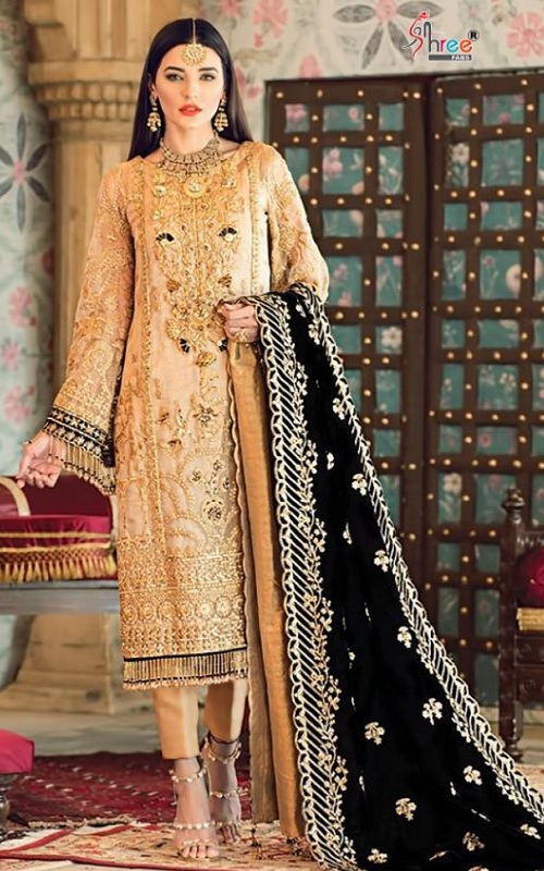 Buy Shree Fabs Gulal Embroidered Collection Vol 4 Salwar Suit 2165