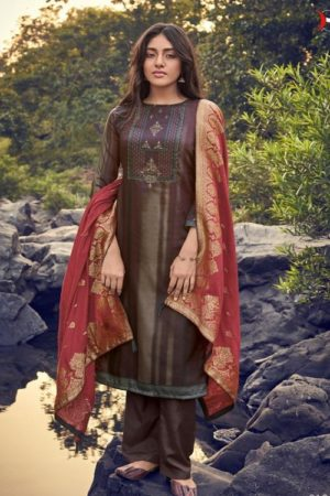 Deepsy Ahana Jum Cotton Digital Print With Khat Handwork Salwar Suit 61004