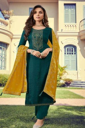 Deepsy Suits Monalisa Nahya Silk Self Butti With Self Embroidery And Hand Work 2004