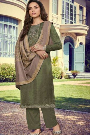 Deepsy Suits Monalisa Nahya Silk Self Butti With Self Embroidery And Hand Work 2005