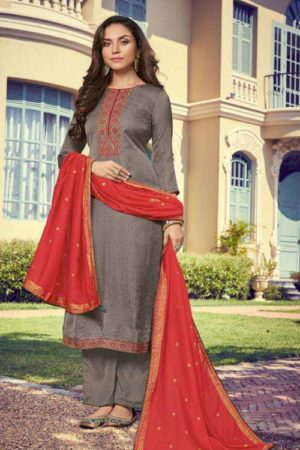 Deepsy Suits Monalisa Nahya Silk Self Butti With Self Embroidery And Hand Work 2006