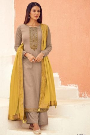 Deepsy Suits Royal Touch Mini Silk With Self Embroidery And Handwork Salwar Suit 51004