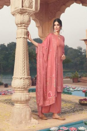Ekta Fashion Khwaish Georgette With Embroidery And Saroski Salwar Suit 3102