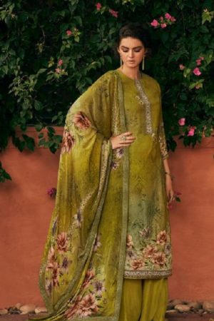 Kimora Presents Heer Ekaaya Pure Maslin Digital Print Salwar Suit 9905