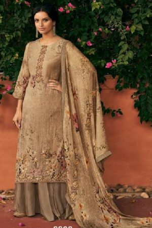 Kimora Presents Heer Ekaaya Pure Maslin Digital Print Salwar Suit 9908