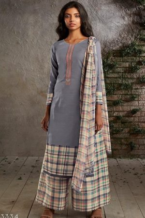 PRM Trendz Presents Naomi Pure Jam Silk Printed Ladies Ethnic Summer Collection Suit 3334