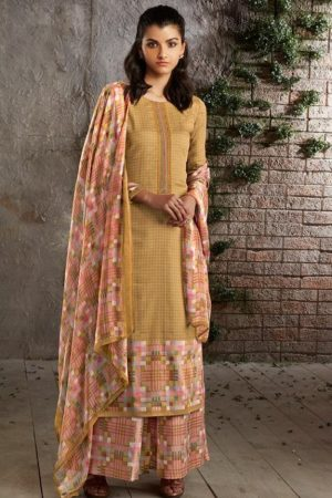PRM Trendz Presents Naomi Pure Jam Silk Printed Ladies Ethnic Summer Collection Suit 3340