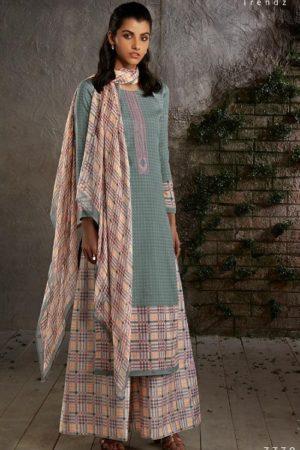 PRM Trendz Presents Naomi Pure Jam Silk Printed Ladies Ethnic Summer Collection Suits 3338