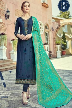 Rsf Rolex 7 Georgette Long Suit With Hand Work Salwar Suit 13703
