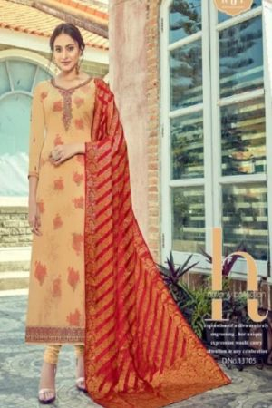 Rsf Rolex 7 Georgette Long Suit With Hand Work Salwar Suit 13705