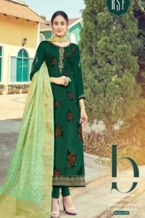 Rsf Rolex 7 Georgette Long Suit With Hand Work Salwar Suit 13707