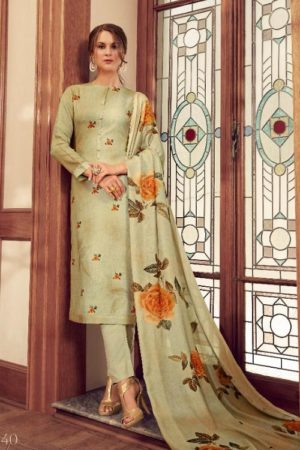 Sahiba Sarg Presents Behrouz Viscose Modal Pure Digital Print With Handwork Salwar Suit 540