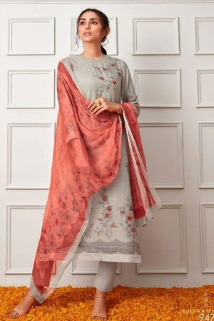 Sahiba Sarg Pure Cotton Silk Digital Print With Hand Work Salwar Suit 947