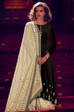Varsha Fashions The Signature Collection Pure Tussar Silk With Cording Work Salwar suit sc-22