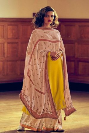 Varsha Fashions The Signature Collection Pure Tussar Silk With Cording Work Salwar suit sc-24