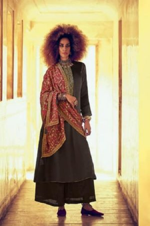 Varsha Fastion Mehreen Pure Tusser Silk With Carding Embroidery Salwar Suit mr-17