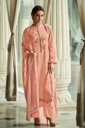 Avon Presents Falak 2 Cotton Satin With Embroidery Summer Collection Designer Suit 111
