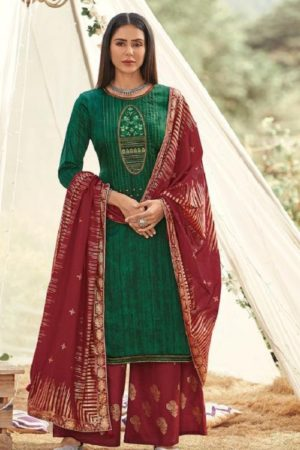 Deepsy Gujarish Jaam Cotton Print With Heavy Self Embroidery Salwar Suit 5104